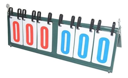 placar de mesa 999 pontos marcador contador triplo maleta