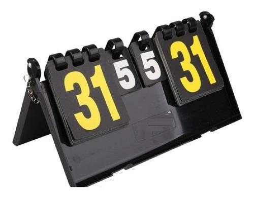 placar de mesa marcador contador de pontos manual dobrável