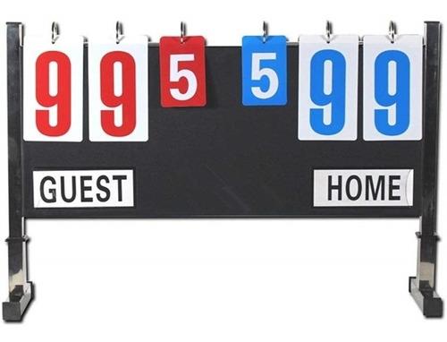 placar multi esporte  em inox marcador de pontos mesa chao
