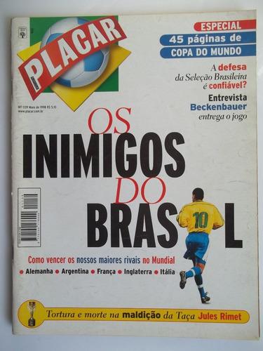 placar n° 1139  maio de 1998 - copa do mundo
