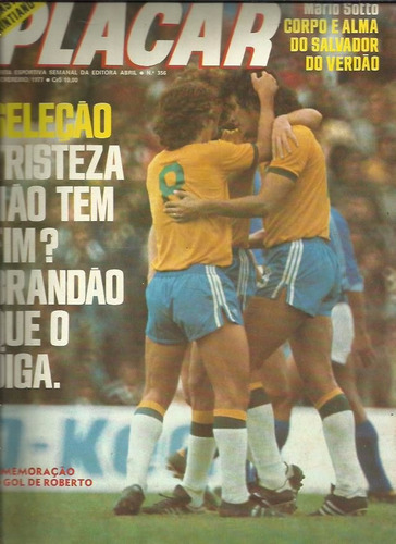 placar nº 356 18/02/1977 edição rara