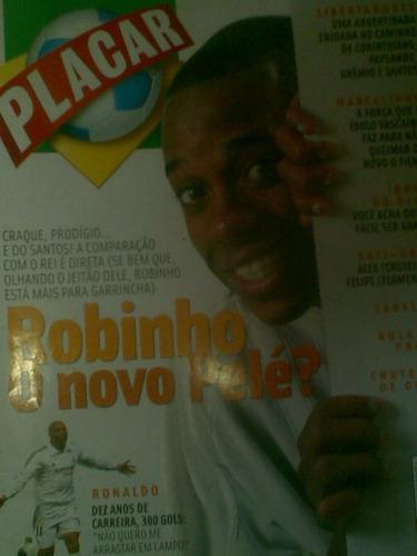 placar - robinho - maio 2003