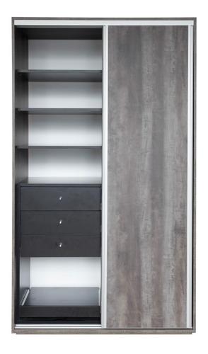 placard 100x200  puerta corrediza cajones forbidan muebles