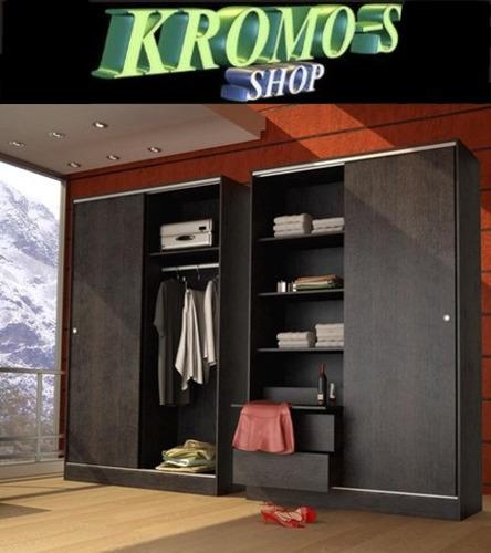 placard 2 puertas corredizas 2002 kromo-s el mejor placard