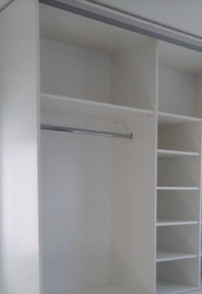 placard 4 puertas melaminico blanco fabricacion nacional