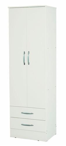 placard blanco 2 puertas 2 cajones mosconi zona sur lustre