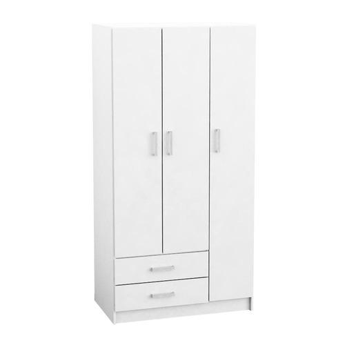 placard de 3 puertas color blanco