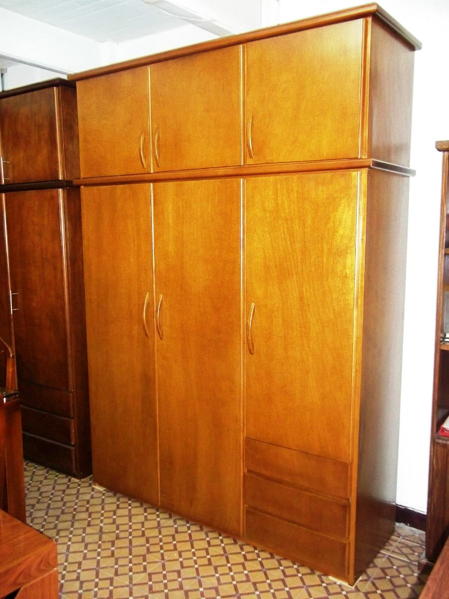 Placard de madera ropero de madera dormitorio for Roperos de madera para dormitorios