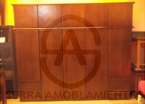 placard en madera 2.67 largo-dormitorio- ropero