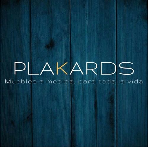 placard melaminico roble moro   fabricamos a medida#plakards