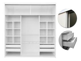 Promo Aluminio Blackfriday Rieles 6 Cuotas Ropero Placard NnPZ80OXwk