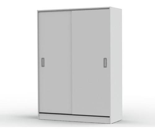 placard ropero dielfe 135 cm melamina puertas corredizas