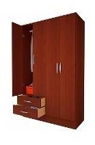 placard ropero mosconi 4 puertas 2 cajones