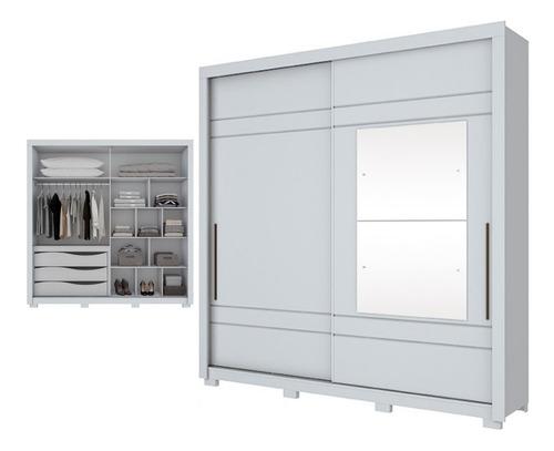 placard ropero puertas corredizas con espejo calidad premium