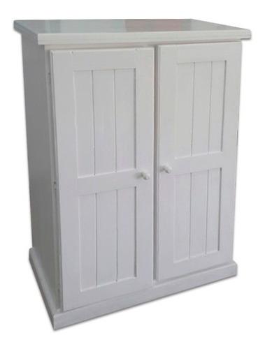 placard zapatero botinero blanco madera maciza envío bonif*