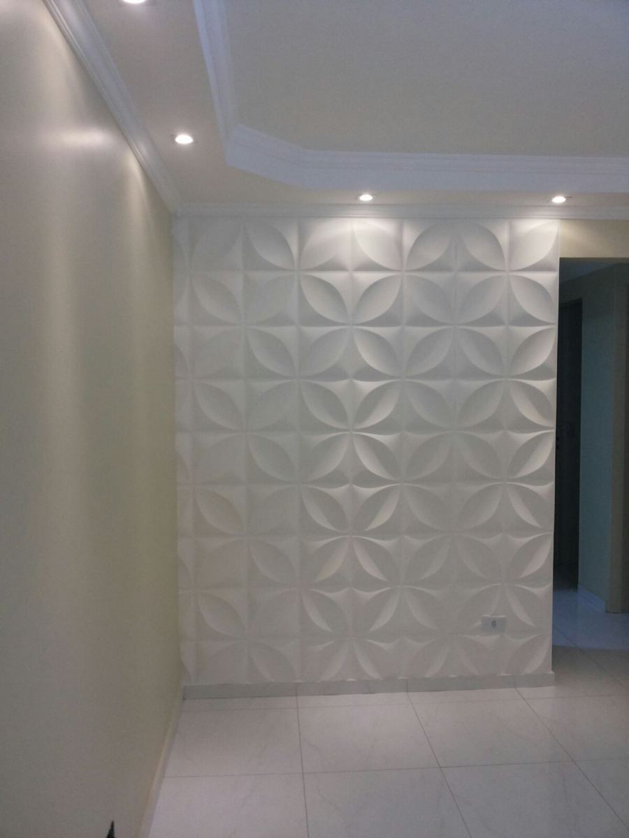 Placas 3d painel 3d revestimento 3d para paredes - Placas para paredes interiores ...
