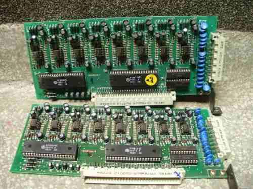 placas 8 ramais pabx intelbras 10040/16064
