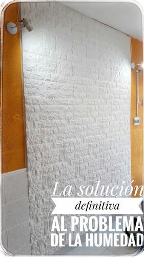 placas antihumedad - decoración de interiores - solución