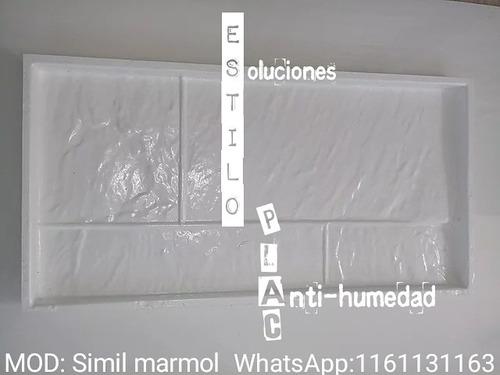 placas antihumedad . estilo plac
