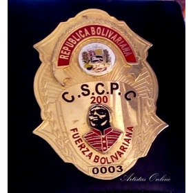 Placas Chapas Policia Ministerio Público Cicpc  Tribunales