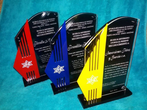 placas conmemorativas,medallas, trofeo acrilico