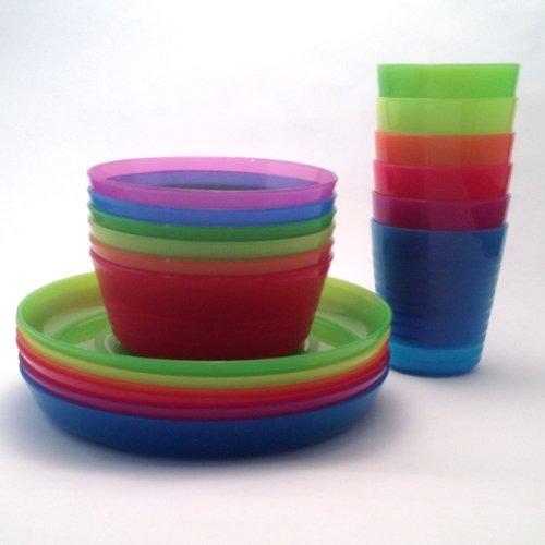 placas de acentoikea - kalas niños coloreen bowl, vaso y ..