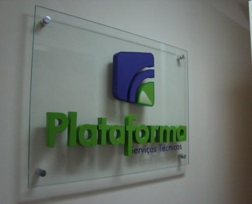 Placas de acrilico para profesionales grabadas o vinilo - Placas de vinilo para paredes ...