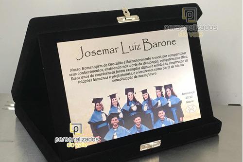 placas de homenagem personalizadas