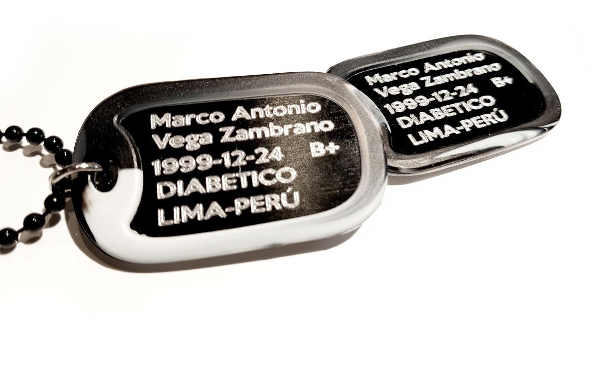 Placas De Identificación-placas Militares - Personalizadas - S/ 60 ...
