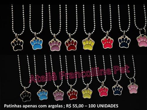 placas de identificação para cães ( anúncio atacado 200pçs )
