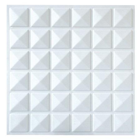 Placas de pvc 3d 50cm x 50cm r 6 48 em mercado livre for Placas de pvc para paredes