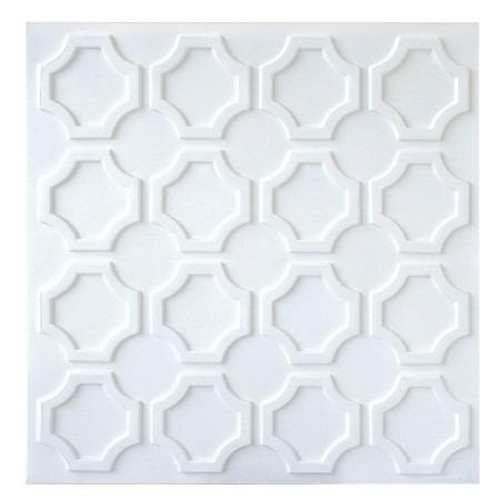 Placas de pvc 3d 50cm x 50cm r 6 44 em mercado livre for Placas pvc para paredes