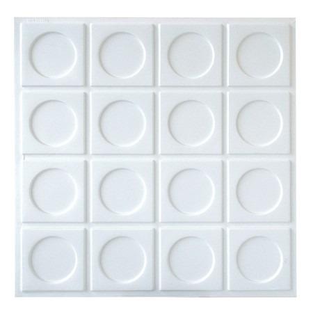 placas de  pvc 3d forrorama 50cm x 50cm