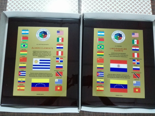 placas de reconocimiento