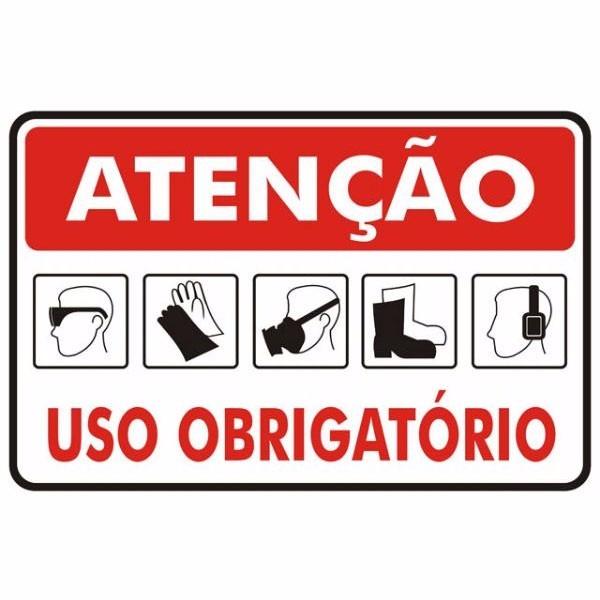 Placas De Sinalização Segurança Do Trabalho - R  75,00 em Mercado Livre 96d6196de0