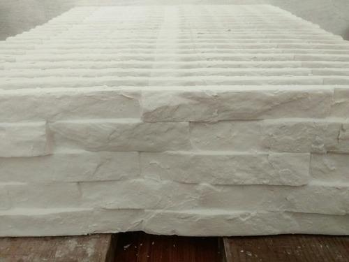 placas de yeso 3d símil piedra para interior y exterior
