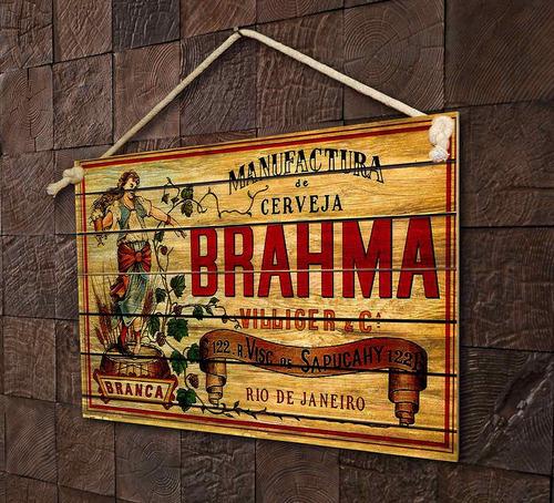 placas decorar bar cozinha restaurante cerveja coca-cola