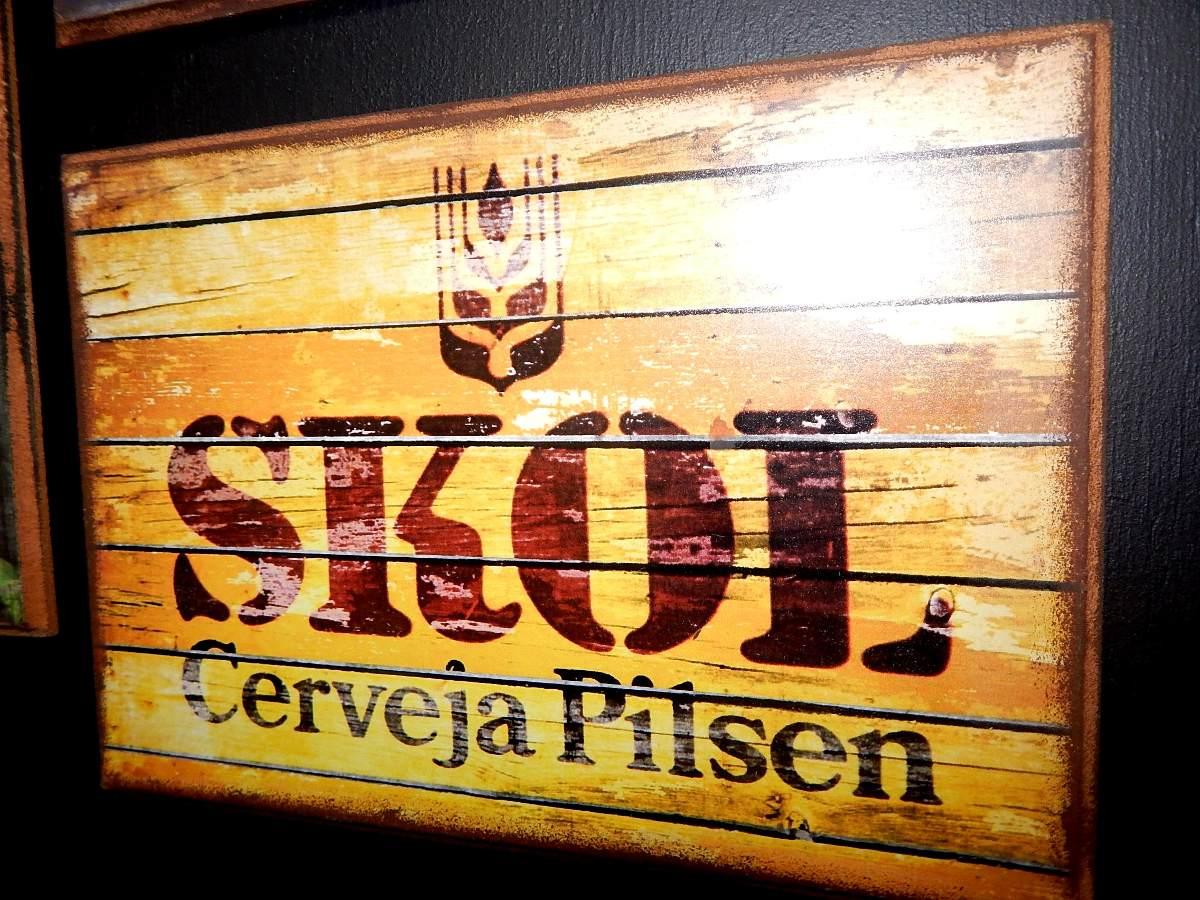 Placas Decorativa Cerveja Compre Para Revenda Atacado R$ 15 00 em  #B68415 1200 900
