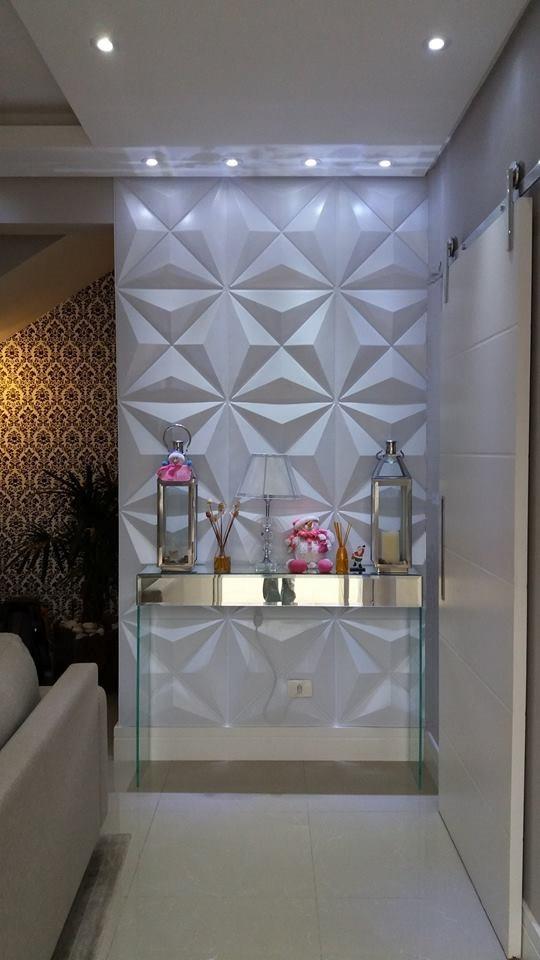 placas decorativas em 3d revestimentos de parede 3d r
