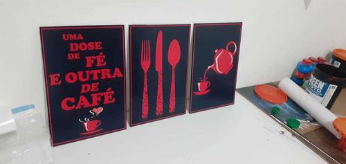 placas decorativas em mdf tamanho a4
