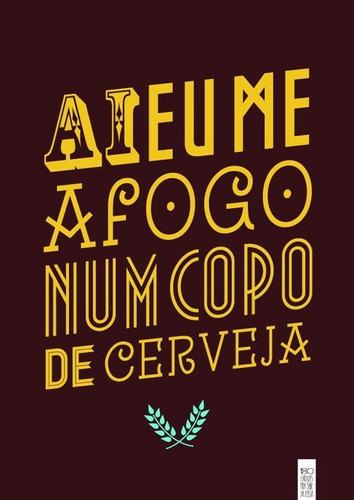 Placas Decorativas Frases Cerveja Amor Saudades Conjunto