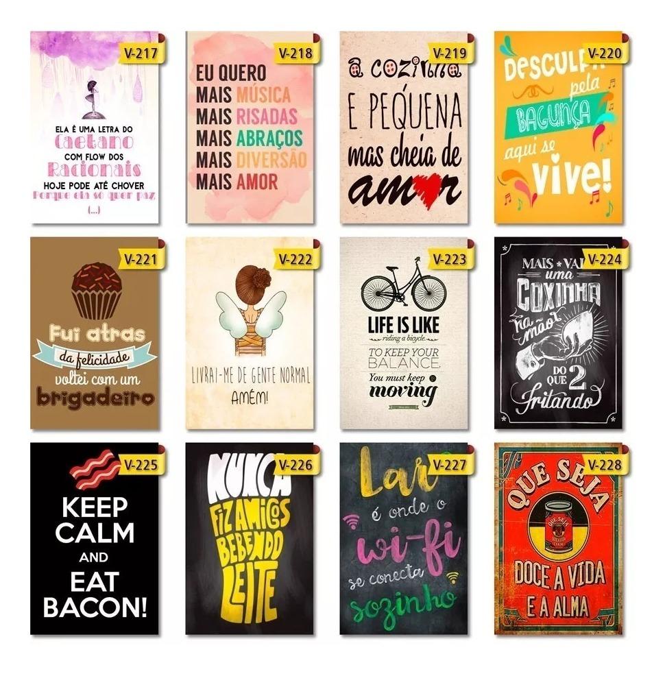 Placas Decorativas Frases Desenhos Motivacional Carro Moto