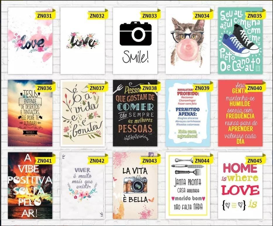 Placas Decorativas Frases Motivacionais Divertidas A421x29 7
