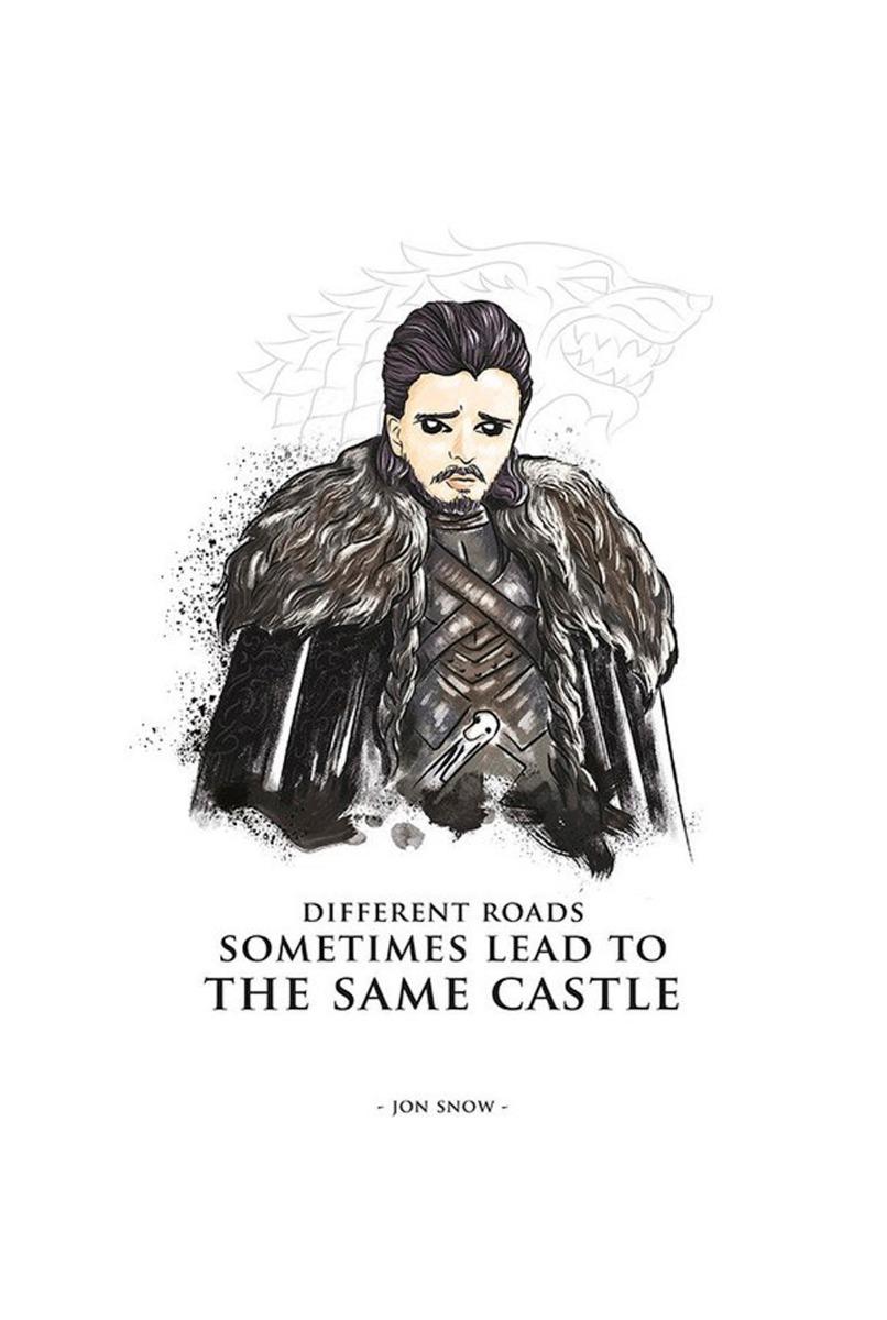 Placas Decorativas Game Of Thrones Jon Snow Desenhos Cores R 45