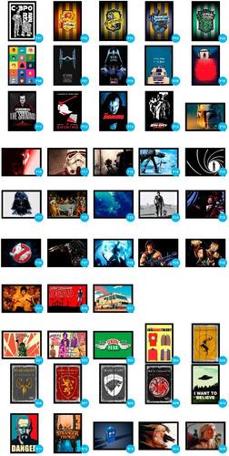 placas decorativas geek nerd quarto gamer mangá anime