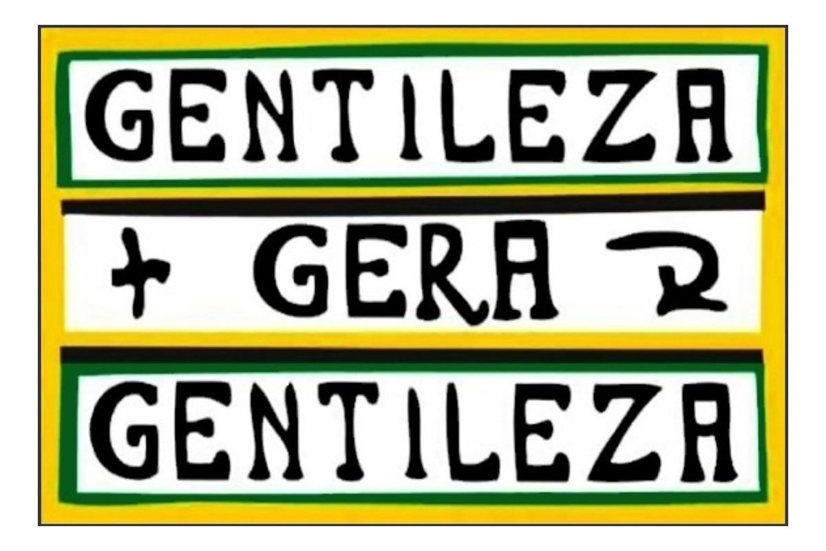 Placas Decorativas Gentileza Gera Gentileza R 19 99 Em Mercado