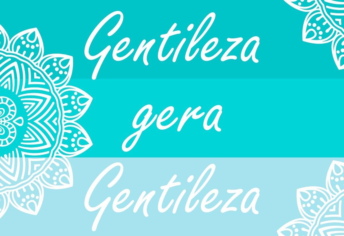 Placas Decorativas Gentileza Gera Gentileza Mandala R 17 99 Em