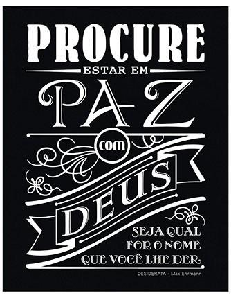 Placas Decorativas Mdf Frases Deus Retrô Vintage Nasil 039 R