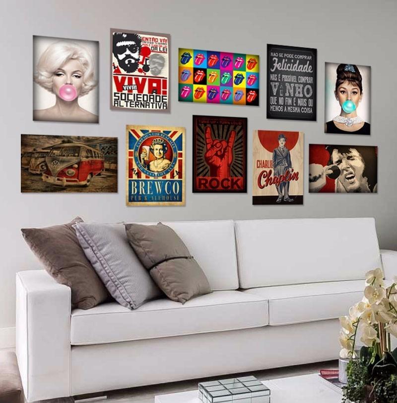 Placas decorativas mdf retro sala quarto cozinha r 8 90 em mercado livre - Placas pared decorativas ...