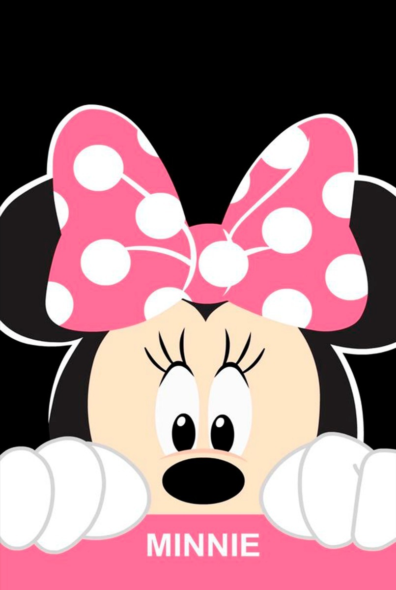 Placas Decorativas Minnie E Mickey Disney Desenhos Cores Mdf R
